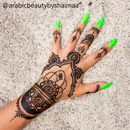 Tatuajes de henna peru experiencia arabic beauty by shaimaa delilac blog (7)