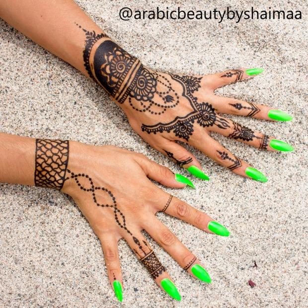 Tatuajes de henna peru experiencia arabic beauty by shaimaa delilac blog (8)