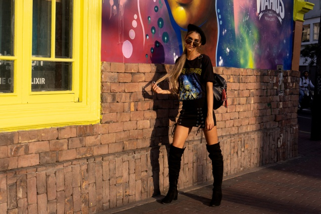 Delilac rock grunge iron maiden inspired look andrea chavez (1)