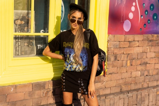 Delilac rock grunge iron maiden inspired look andrea chavez (16)
