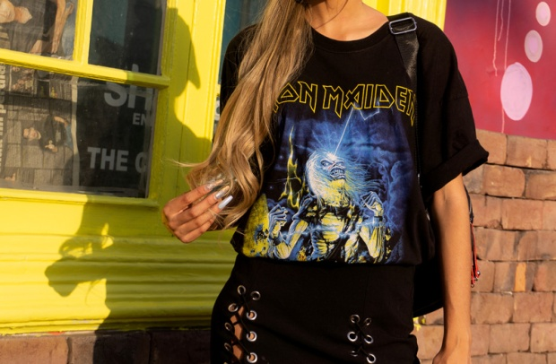 Delilac rock grunge iron maiden inspired look andrea chavez (2)
