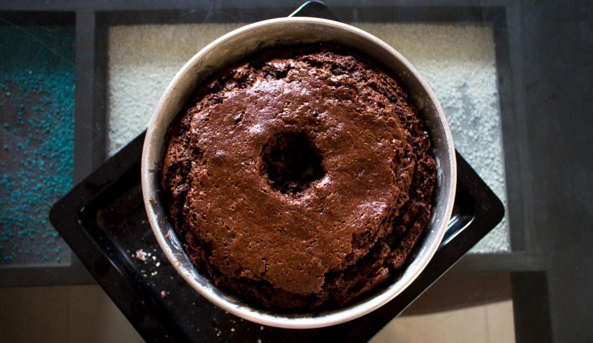 Mi receta de keke de chocolate húmedo riquísimo!!