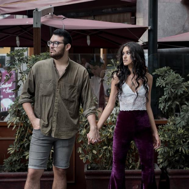 Andrea chavez y sebastian corzo fotos lifestyle pareja delilac 12