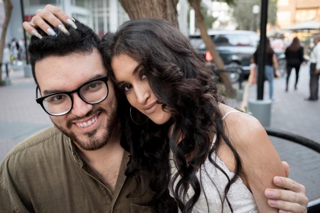 Andrea chavez y sebastian corzo fotos lifestyle pareja delilac 17