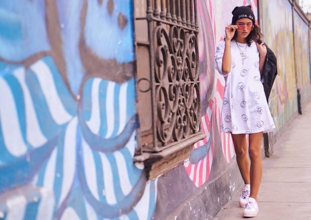Converse X Miley Delilac Andrea converse peru urban look (9)