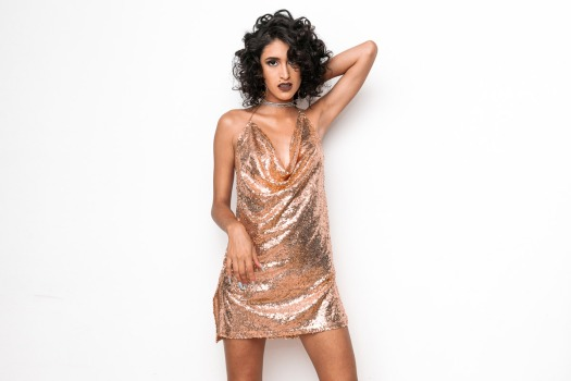 Golden sequin dress paris hilton 21 party style yoins delilac andrea chavez (13)