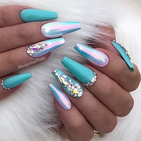 manicure inspo 2018 tendencias coffin delilac (1)