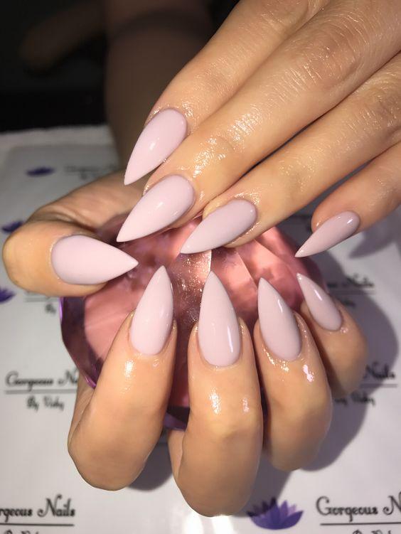 manicure inspo 2018 tendencias stiletto delilac (2)
