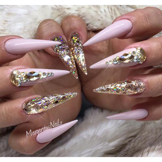 manicure inspo 2018 tendencias stiletto delilac (3)