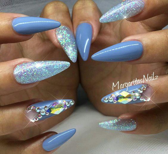 manicure inspo 2018 tendencias stiletto delilac (7)