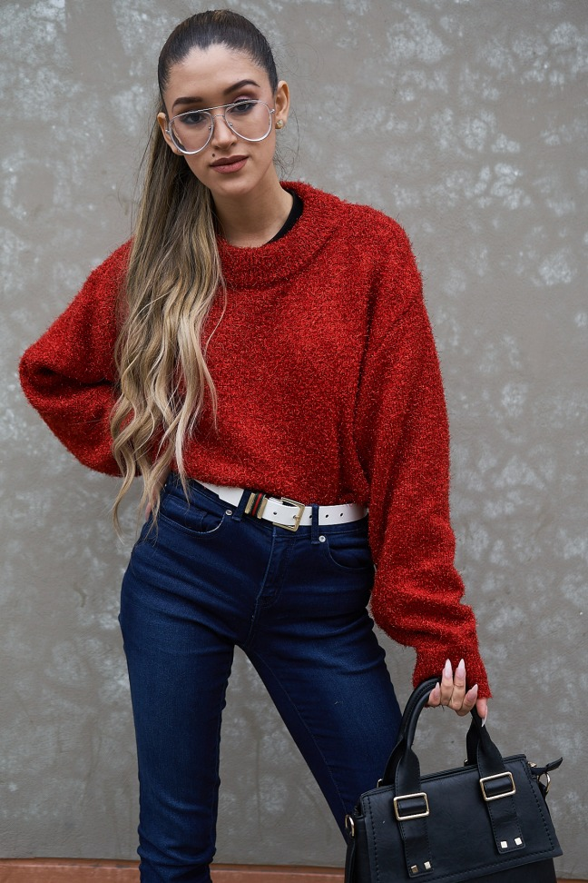 Lady in red winter 2018 fashion trends delilac (2)