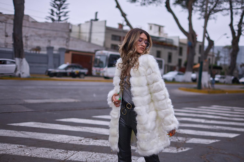White faux fur coat yoins delilac andrea chavez look (4)