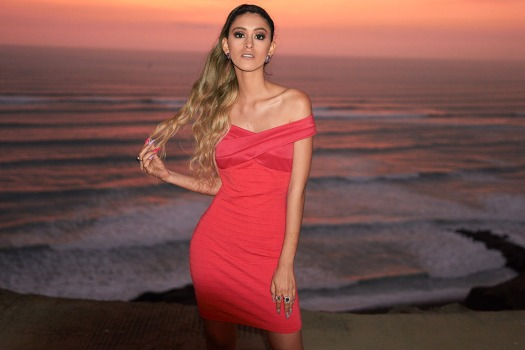 ribbed midi dress yoins review delilac (1)