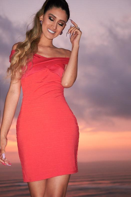 ribbed midi dress yoins review delilac (12)