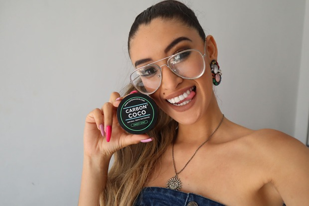 Carbon coco sweet mint blanqueamiento dental review delilac andrea chavez (4)